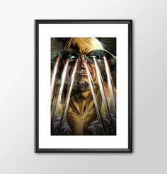 Wolverine Claws - Classic Superhero  - PRINTED - BUY 2 Get 1 FREE by ShamanAlternative on Etsy