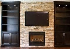 built in around fireplace - Bing Images