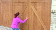15.  continue adjusting any small gaps that might have been left during installation, using a wide putty knife if necessary to lift the panels from the garage door.