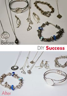 I found a great recipe for homemade Jewelery cleaner. It works!