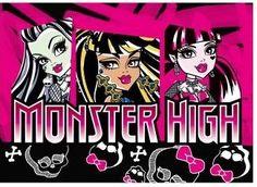 Speelkleed Monster High Skull  95x133