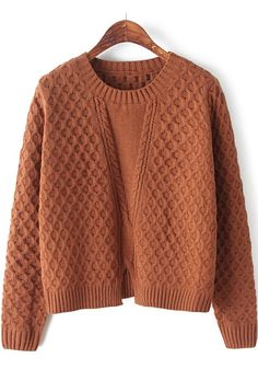 Coffee Slim Pullover - Pullovers - Sweaters - Tops