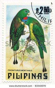 Philippines Stamp - Birds
