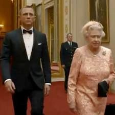 bond and the queen :)