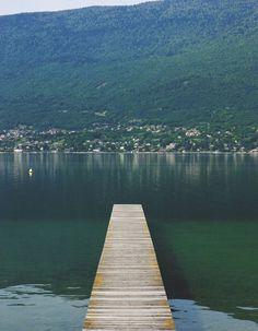 Au bout du ponton, le Bourget-du-Lac
