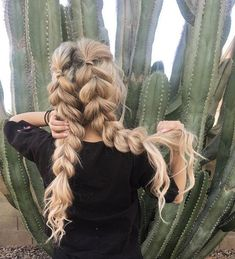 Amazing Braided Hairstyles for Long Hair for Every Occasion 51 Amazing Braided Hairstyles for Long Hair for Every Occasion - Stylish Amazing Braided Hairstyles for Long Hair for Every Occasion - Stylish Bunny Box Braids Hairstyles, Pretty Hairstyles, Easy Braided Hairstyles, Flower Hairstyles, Medium Hairstyle, Black Hairstyle, Teenage Hairstyles, Wedding Hairstyles, Cabelo 3c 4a