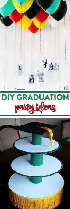DIY Graduation Party Ideas - A Little Craft In Your Day