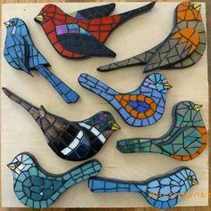 Resultado de imagen para mosaic birds