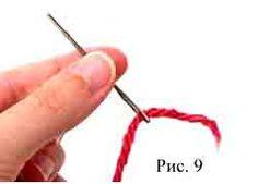 соединение нитей 9