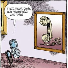 The world of cell phones...