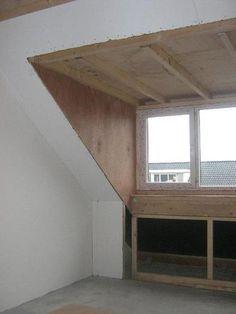Beenden Sie in Gaube Fenster, Attic Master Bedroom, Attic Bedroom Designs, Attic Rooms, Attic Spaces, Bedroom Loft, Attic Renovation, Attic Remodel, Hip Roof Design, House Design