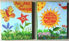 You are my sunshine canvas patterns - Google Search