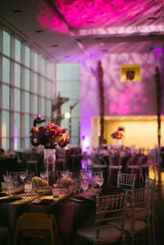 Vibrant palette lighting up Friedman Court with rich pink, purple, ivory, and gold. This palette was ahead of the curve! #radiantorchid #pantonecoloroftheyear
