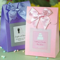 Personalized Wedding Candy Bags for the candy bar