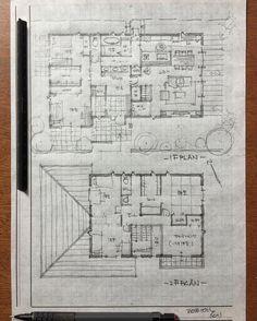 いいね!101件、コメント10件 ― 石川 元洋/一級建築士、インテリアコーディネーターさん(@motohiro_ishikawa)のInstagramアカウント: 「スキップ階段のある二世帯住宅 2世帯6人のお住まい。…」