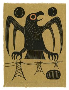 Bockley Gallery :: Artists :: Ahmoo Angeconeb First Art, First Nations, Northern Lights, Snoopy, Birds, Exhibitions, Gallery, Fictional Characters, Artists