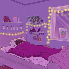 Tagged with wallpaper, art, anime, illustration, anime wallpapers; Shared by Personal Space Dump Purple Aesthetic, Aesthetic Art, Aesthetic Anime, Pretty Art, Cute Art, Art Sketches, Art Drawings, Art Mignon, Anime Kunst