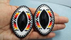 sold Navette earrings with lever posts 2 1/2 inches long Paypal, debit/credit preferred..thx