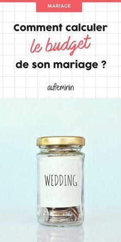 Comment calculer le budget de son mariage ? /// #aufeminin #mariage #budget