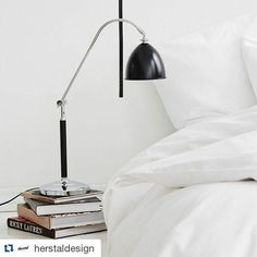 Spirit is a true classic. The elegant table lamp is adjustable in height and on the lamp shade. Place it in the home office the bedroom or in the livingroom. Spirit is beautiful anywhere. #lightupno #herstal #herstaldesign #spirit #tablelamp #danishdesign #interior #inspiration #light