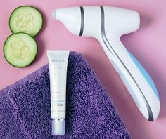Nu Skin's ageLOC LumiSpa Accent with IdealEyes Treatment - One Proud Momma Galvanic Body Spa, Nu Skin Ageloc, Under Eye Bags, How To Exfoliate Skin, Puffy Eyes, Spot Treatment, Skin Tightening, Healthy Skin, Health And Beauty