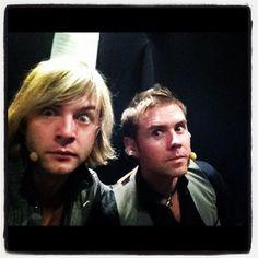 keith & neil backstage - keith-harkin Photo