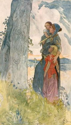 Carl Larsson >> Viking Woman