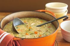 Ingredients :  8 cups reduced-sodium chicken broth 1/2 cup regular barley 4 skinless, boneless chicken breast halves, (1 to 1-1/4 lbs total), cut into 3/4-inch cubes  3 celery ribs, sliced 3 medium size carrots, sliced 1/2 cup chopped onions 2 tbsp dried parsley 1
