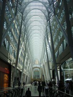 BCE Place. Toronto, Ontario, Canada.