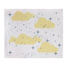 Starry Night in Creampuff Throw Blanket  -see all of our other fun designs and products in our shop at www.cafepress.com/drapestudio   ... and always thanks for sharing our shop with your friends!