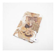 Porta passaporte - FashionArts - Artesanatos da Moda