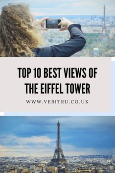 Top 10 Best Views of the Eiffel Tower - The Eiffel Tower is one of the world's most iconic and recognised buildings. Measuring 324 metres or 1,063 ft tall it dominates the skyline from every angle of Paris, France. There are numerous buildings and places across the city which will give you the best view of the Eiffel Tower. Here's my top 10! - Veritru