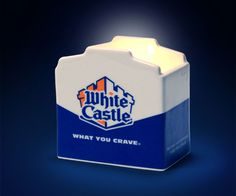 White Castle Slider Scented Candle | DudeIWantThat.com