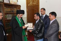 المرجع الديني العراقي العربي السيد الصرخي الحسني دام ظله