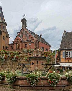 Eguisheim photo by Marlies Claessen Wegner