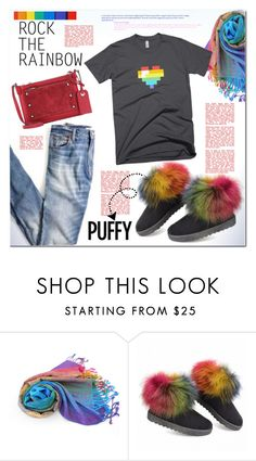 """Rock The Rainbow Style ^TS"" by rosie305 ❤ liked on Polyvore featuring Madewell, Marc by Marc Jacobs, women's clothing, women's fashion, women, female, woman, misses, juniors and RockTheRainbow"