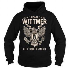 Awesome Tee Team WITTMER Lifetime Member - Last Name, Surname T-Shirt Shirts & Tees