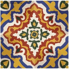 Cement Tile Shop - Encaustic Cement Tile | Sierra