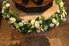 church font flower arrangements - Google Search