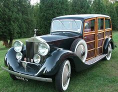 1929 re-bodied Shooting Brake by Alpe & Saunders (chassis GXO3)