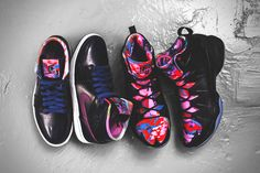 """Jordan Brand 2014 """"Year of the Horse"""" Pack // more """"glitch inspired"""" looking shoes..."""