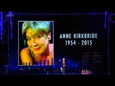 Anne Kirkbride 1954-2015 (Deirdre Barlow - Coronation Street) Tribute by William Roche @ The NTA Awards