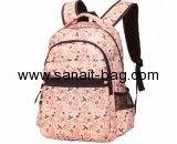 China bag manufacturers custom polyester backpack girls backpacks WB-139
