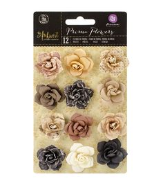 Prima Marketing The Archivist Fragments Mulberry Paper Flowers