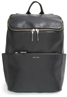 c069ca6788f  145 - Matt  amp  Nat  Brave  Faux Leather Backpack - Black - A