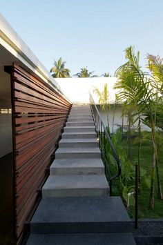 #outdoor #stairs #wood