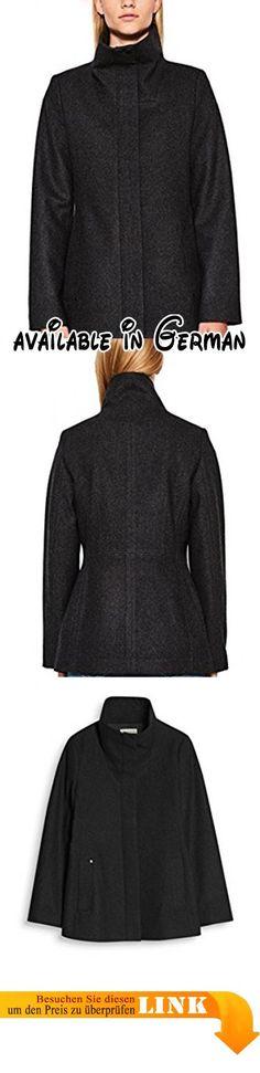 B07237LM4P   ESPRIT Collection 087eo1g025 Abrigo para Mujer Azul (Navy 400)  X-Large (Talla del fabricante  42).  c31f0d0aaf18