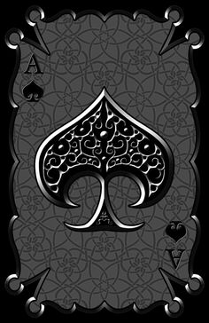 Image in Ace of Spades collection by Pantagruella Graffiti Wallpaper, Skull Wallpaper, Heart Wallpaper, Locked Wallpaper, Justin Ward, Spade Tattoo, Tribal Drawings, Ace Card, Wallpapers