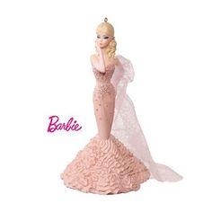 2016 Mermaid Gown Barbie Hallmark Keepsake Ornament - Hooked on Hallmark Ornaments
