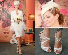 Vestidos de noiva:  look de Julia Petit no Base Aliada - GNT